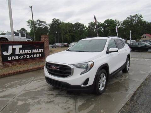 2019 GMC Terrain for sale at J T Auto Group in Sanford NC