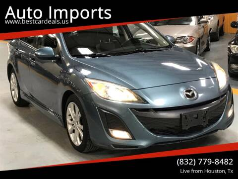 2010 Mazda MAZDA3 for sale at Auto Imports in Houston TX