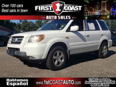 2008 Honda Pilot for sale at 1st Coast Auto -Cassat Avenue in Jacksonville FL