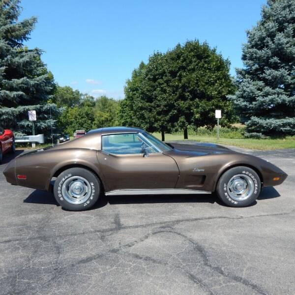1974 Chevrolet Corvette for sale at TIM'S ALIGNMENT & AUTO SVC in Fond Du Lac WI