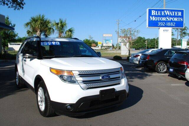 2015 Ford Explorer for sale at BlueWater MotorSports in Wilmington NC
