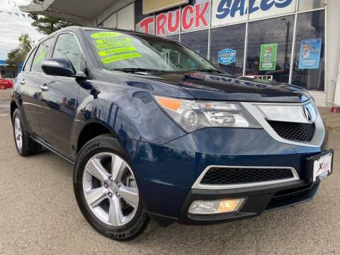 2013 Acura MDX for sale at Xtreme Truck Sales in Woodburn OR