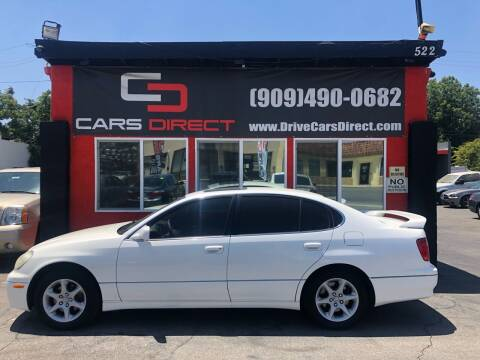 2001 Lexus GS 300 for sale at Cars Direct in Ontario CA