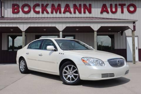 2008 Buick Lucerne for sale at Bockmann Auto Sales in Saint Paul NE