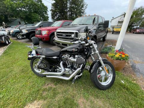 2013 Harley Davidson 1200 XL Custom for sale at LAUER BROTHERS AUTO SALES in Dover PA