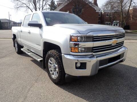 2017 Chevrolet Silverado 2500HD for sale at Marvel Automotive Inc. in Big Rapids MI