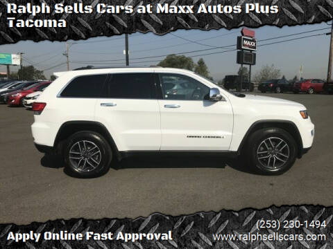 2019 Jeep Grand Cherokee for sale at Ralph Sells Cars at Maxx Autos Plus Tacoma in Tacoma WA