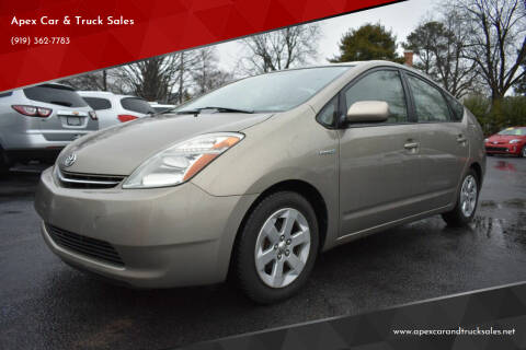2008 Toyota Prius for sale at Apex Car & Truck Sales in Apex NC