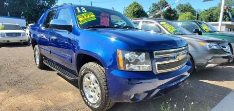 2013 Chevrolet Avalanche for sale at Russo's Auto Exchange LLC in Enfield CT
