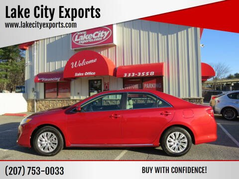 2013 Toyota Camry for sale at Lake City Exports - Lewiston in Lewiston ME