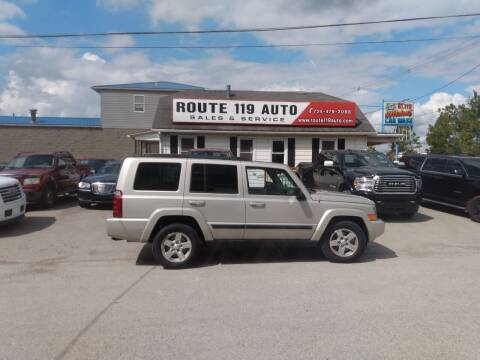 2008 Jeep Commander for sale at ROUTE 119 AUTO SALES & SVC in Homer City PA
