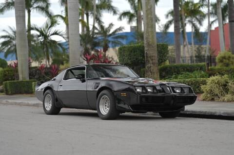 1980 Pontiac Firebird Trans Am for sale at EURO STABLE in Miami FL