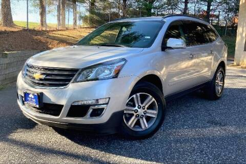2016 Chevrolet Traverse for sale at TRUST AUTO in Sykesville MD