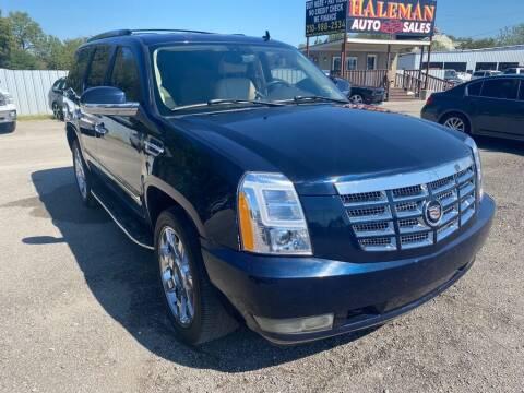 2007 Cadillac Escalade for sale at HALEMAN AUTO SALES in San Antonio TX