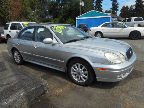 2003 Hyundai Sonata for sale at Lino's Autos Inc in Vancouver WA