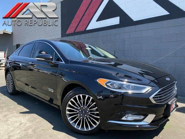 2018 Ford Fusion Energi for sale in Fullerton, CA