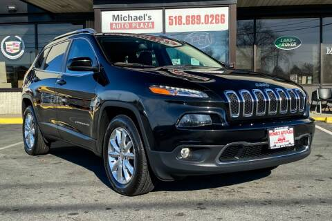 2017 Jeep Cherokee for sale at Michaels Auto Plaza in East Greenbush NY