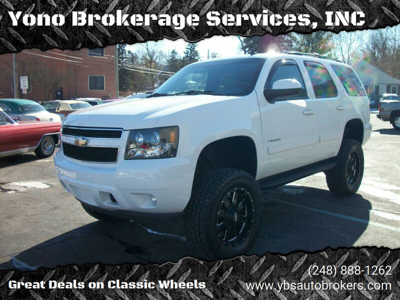 2011 Chevrolet Tahoe for sale at Yono Brokerage Services, INC in Farmington MI