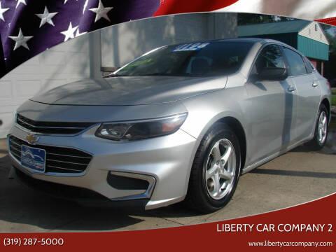 2016 Chevrolet Malibu for sale at Liberty Car Company - II in Waterloo IA