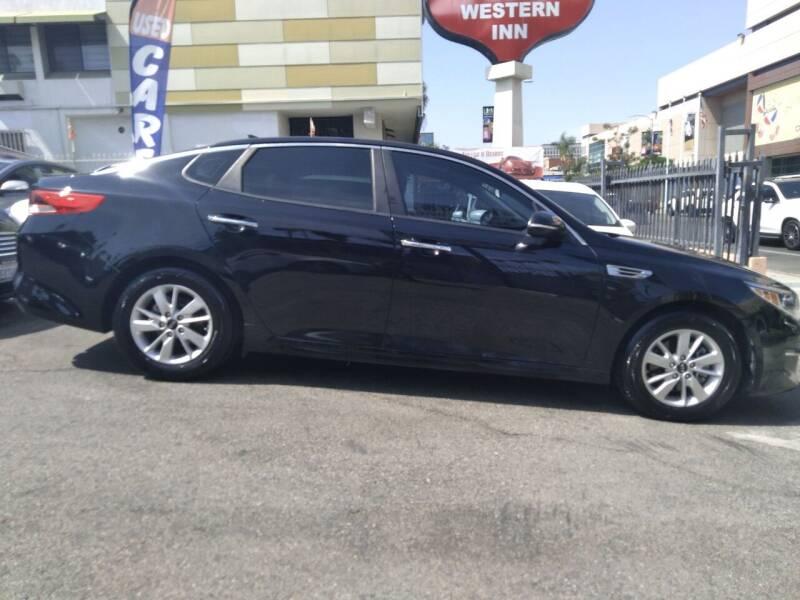 2017 Kia Optima for sale at Western Motors Inc in Los Angeles CA