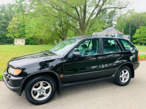 2002 BMW X5 for sale at 41 Liberty Auto in Kingston MA