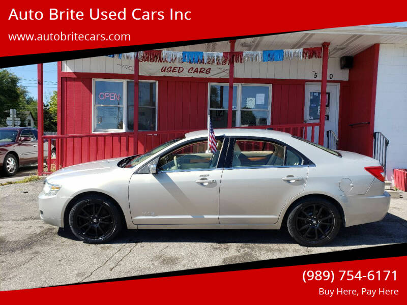 2009 Lincoln MKZ for sale at Auto Brite Used Cars Inc in Saginaw MI
