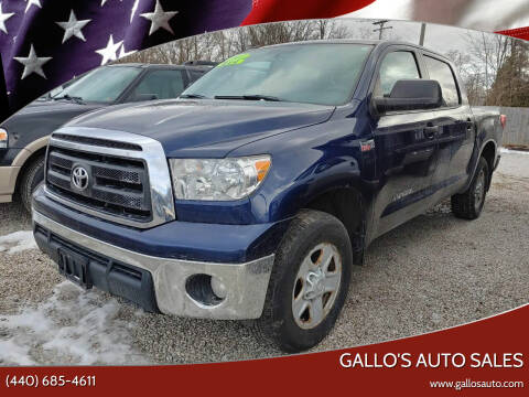 2013 Toyota Tundra for sale at Gallo's Auto Sales in North Bloomfield OH