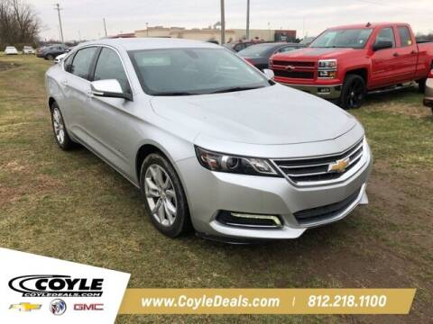 2020 Chevrolet Impala for sale at COYLE GM - COYLE NISSAN - Coyle Nissan in Clarksville IN