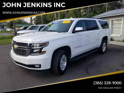 2018 Chevrolet Suburban for sale at JOHN JENKINS INC in Palatka FL