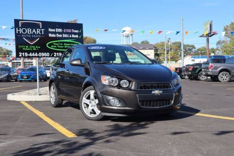 2014 Chevrolet Sonic for sale at Hobart Auto Sales in Hobart IN