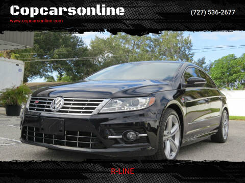 2014 Volkswagen CC for sale at Copcarsonline in Largo FL