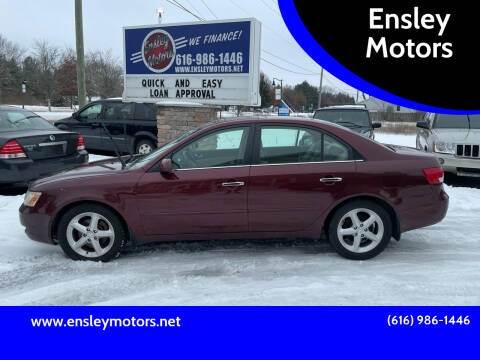 2007 Hyundai Sonata for sale at Ensley Motors in Allendale MI
