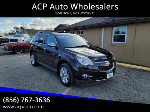 2013 Chevrolet Equinox for sale at ACP Auto Wholesalers in Berlin NJ