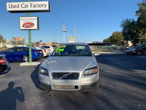2008 Volvo C30 for sale at Used Car Factory Sales & Service in Bradenton FL