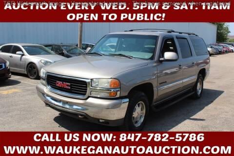 2001 GMC Yukon XL for sale at Waukegan Auto Auction in Waukegan IL