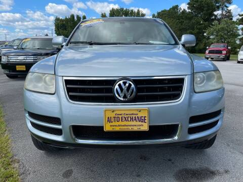 2004 Volkswagen Touareg for sale at Greenville Motor Company in Greenville NC