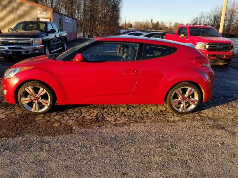 2013 Hyundai Veloster for sale at M & M Auto Sales in Hillsboro OH