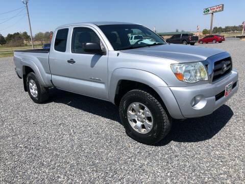 2007 Toyota Tacoma for sale at RAYMOND TAYLOR AUTO SALES in Fort Gibson OK