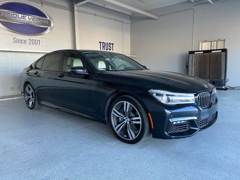 2016 BMW 7 Series for sale at TANQUE VERDE MOTORS in Tucson AZ