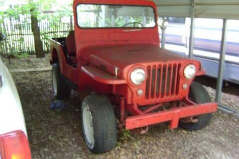 1950 Jeep CJ-7 for sale at Classic Car Deals in Cadillac MI