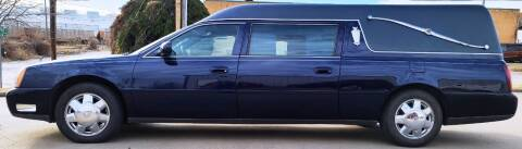 2001 Cadillac Deville Professional for sale at FRANSISCO & MONROE FUNERAL CAR SALES LLC in Tulsa OK