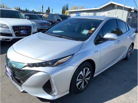 2018 Toyota Prius Prime for sale at AutoDeals in Hayward CA