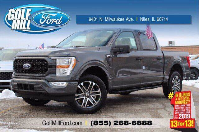 2021 Ford F-150 for sale at Hawk Ford of St. Charles in St Charles IL