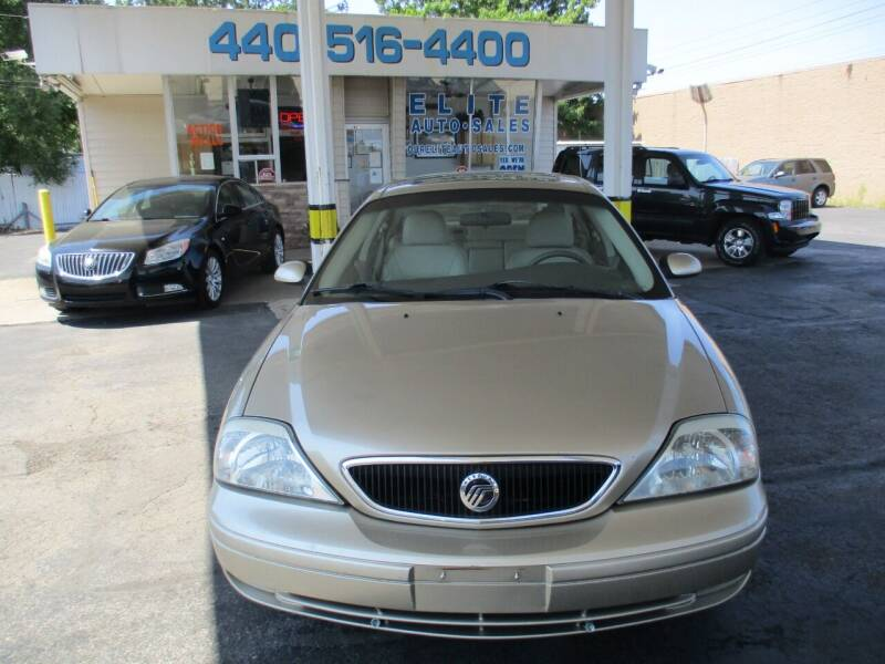 2001 Mercury Sable for sale at Elite Auto Sales in Willowick OH