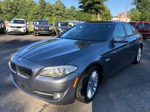 2011 BMW 5 Series for sale at Atlantic Auto Sales in Garner NC