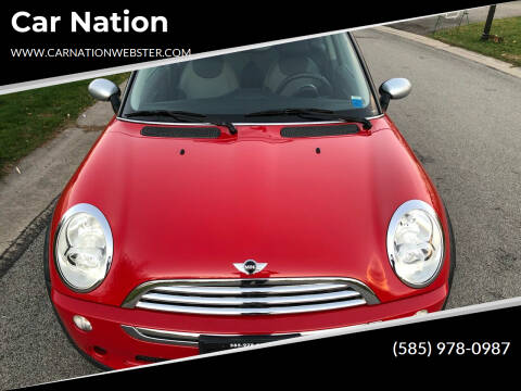 2006 MINI Cooper for sale at Car Nation in Webster NY