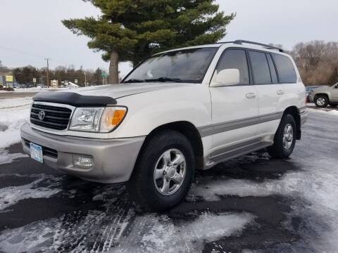 2002 Toyota Land Cruiser for sale at Shores Auto in Lakeland Shores MN