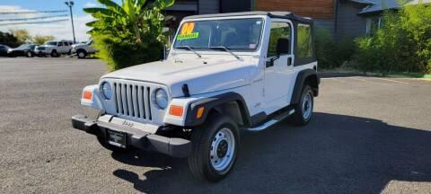 2000 Jeep Wrangler for sale at Persian Motors in Cornelius OR