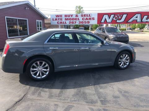 2019 Chrysler 300 for sale at N & J Auto Sales in Warsaw IN