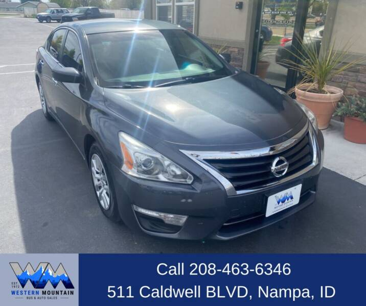 2013 Nissan Altima for sale at Western Mountain Bus & Auto Sales in Nampa ID